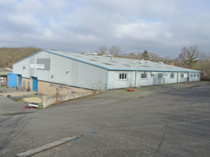 Heathfield industrial unit let