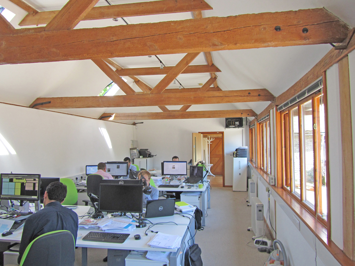 Delightful Barn Office Conversion To Let in Firle Lawson Commercial