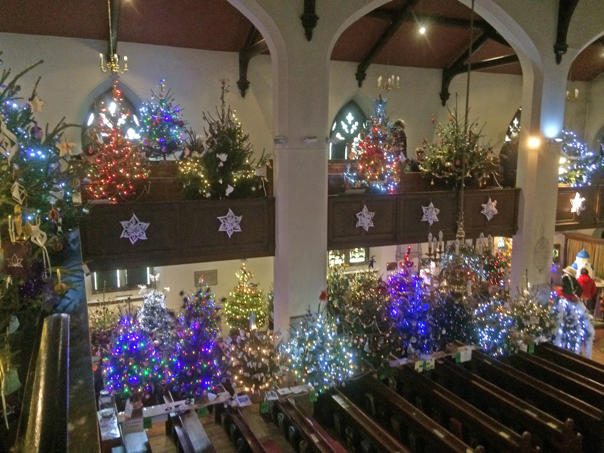 Festival Of Christmas Trees In Uckfield